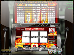 triple inferno slots game